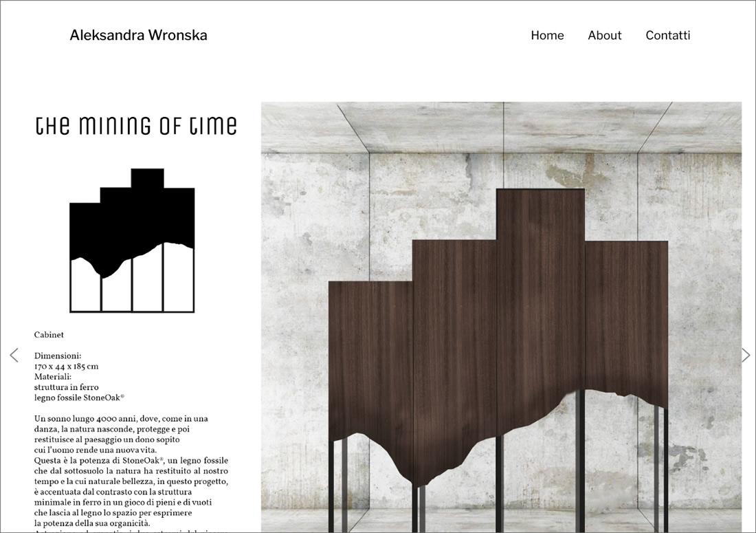Aleksandra Wronska – homepage