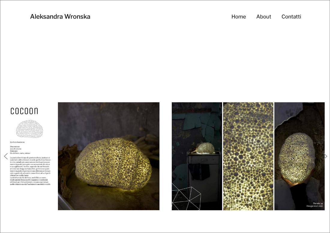 Aleksandra Wronska – prodotti