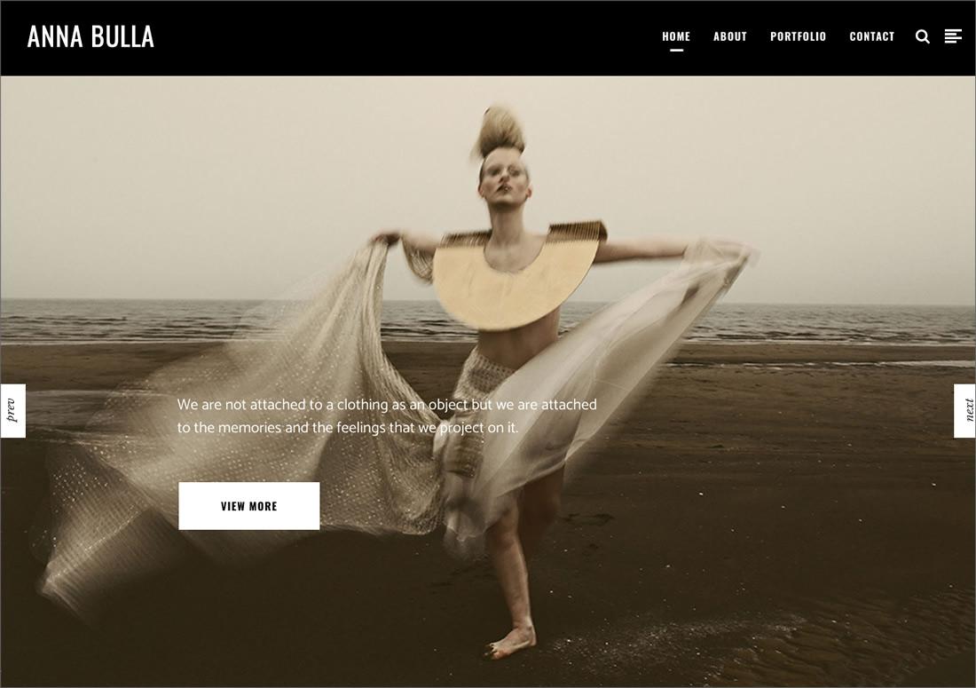 Anna Bulla – homepage