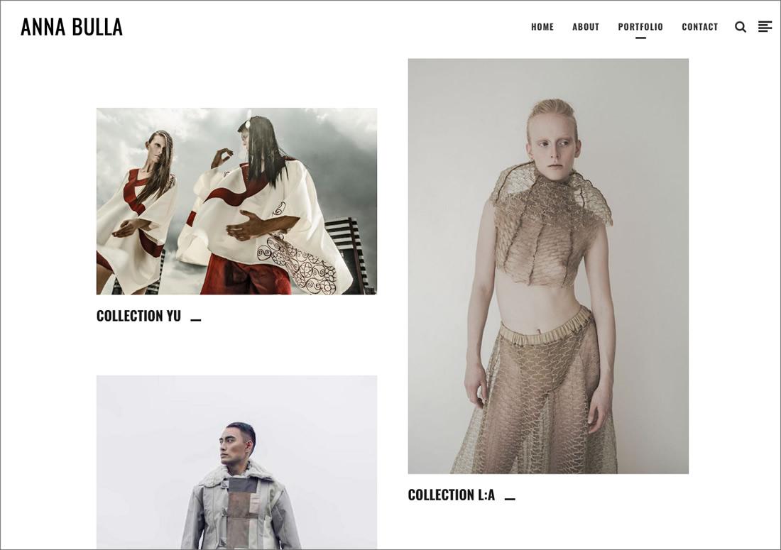 Anna Bulla – portfolio