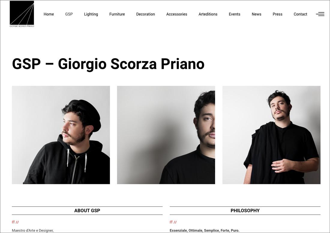 Giorgio Scorza Priano – about