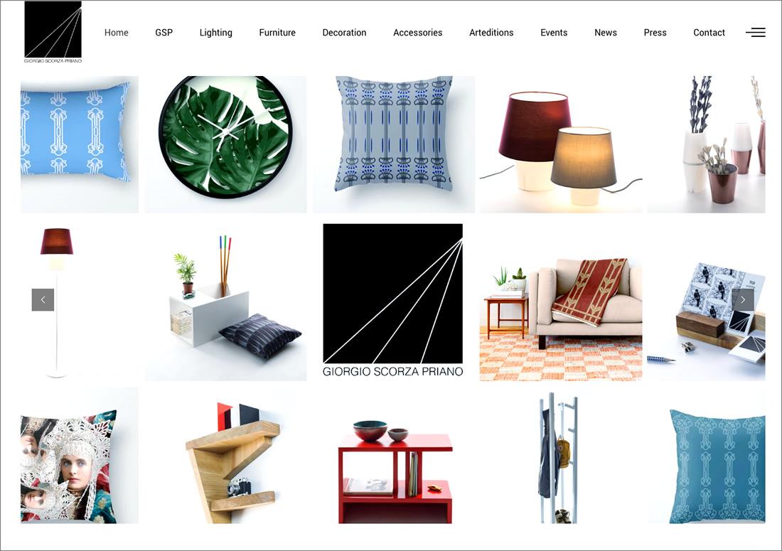 Giorgio Scorza Priano – homepage