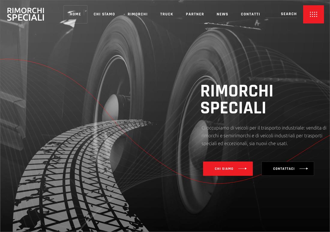 Rimorchi Speciali – homepage