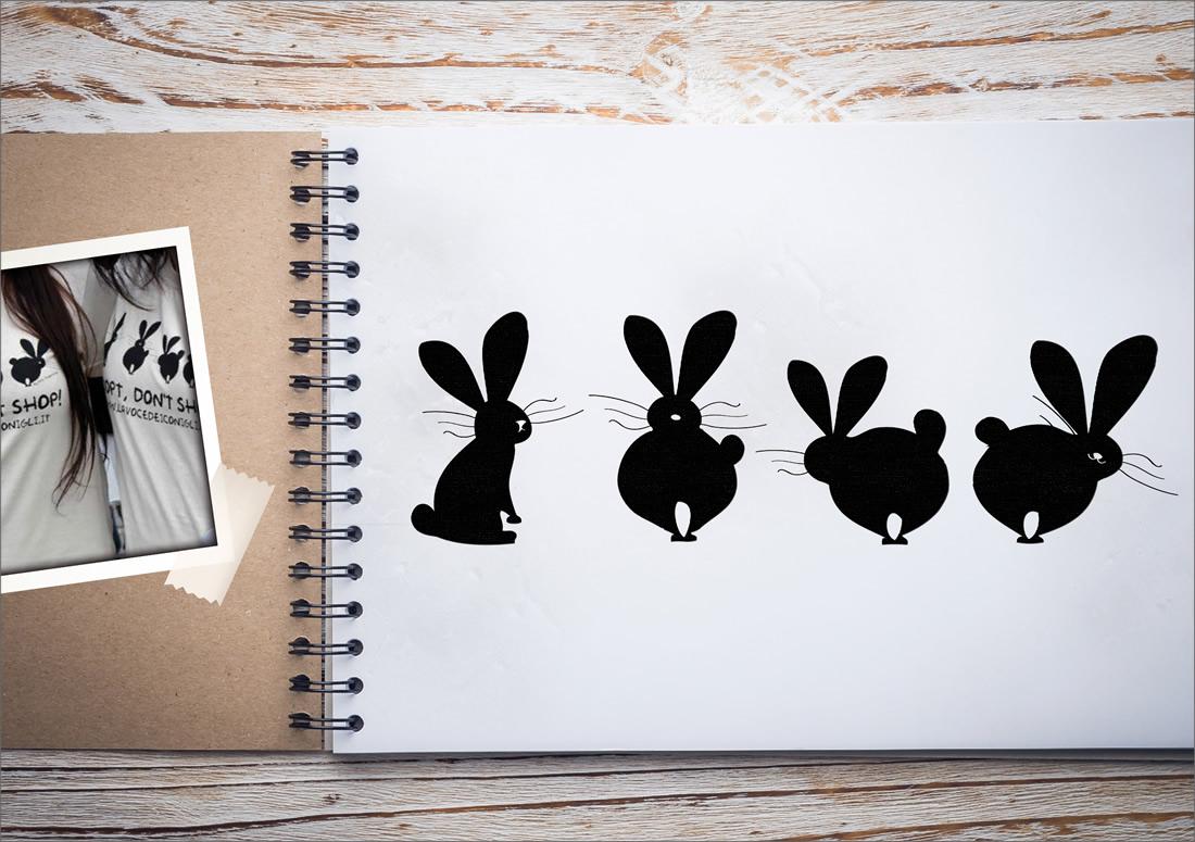 La Voce dei Conigli – Logo T-shirt